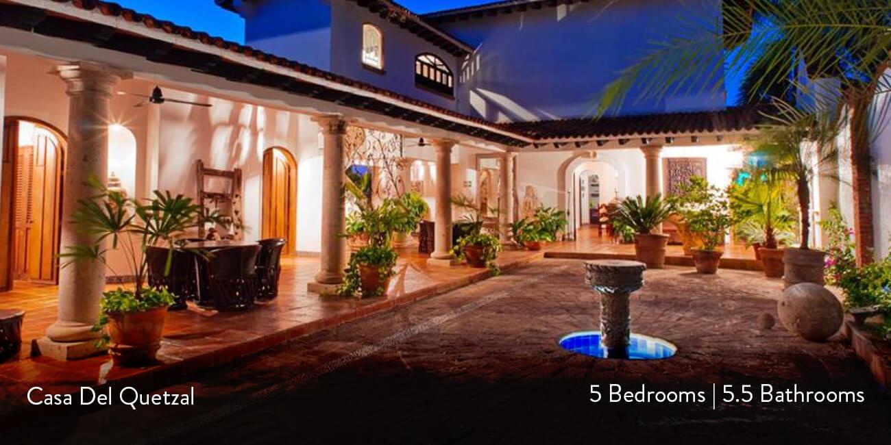 Casa del quetzal puerto vallarta casa bay villas for Villas quetzal celaya