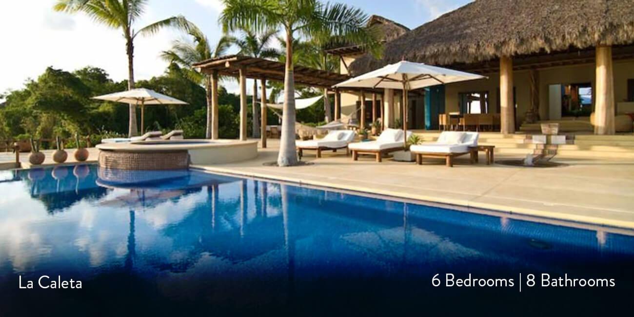 Luxury Villa Rental La Caleta